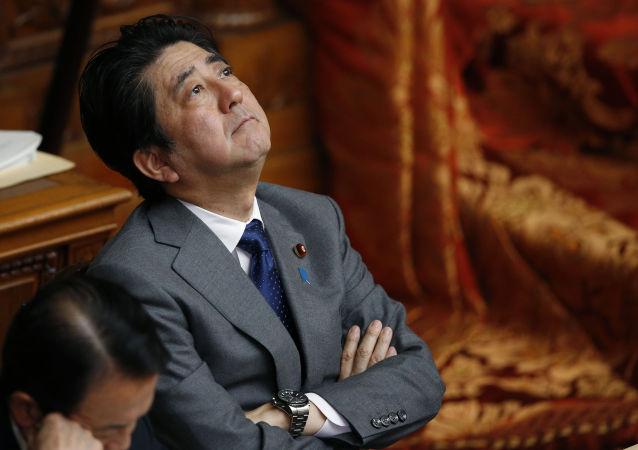 Premier Japonii  Shinzō Abe