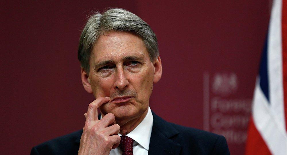 Brytyjski Minister Spraw Zagranicznych Philip Hammond