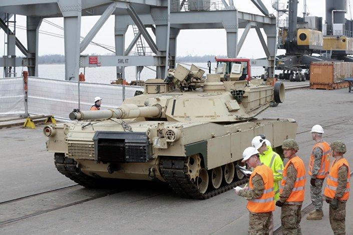 Tank Abrams,  Riga. 9.03.2015