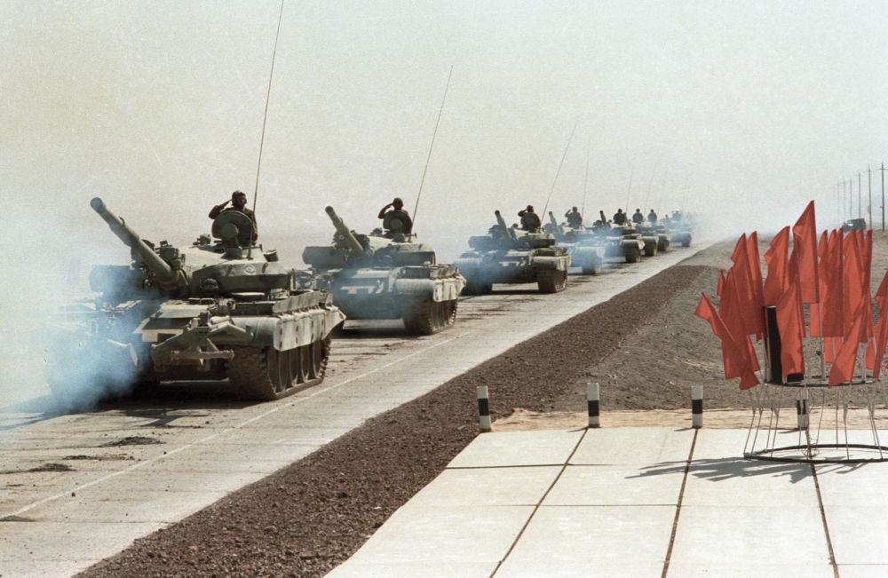Wycofanie wojsk ZSRR z Afganistanu