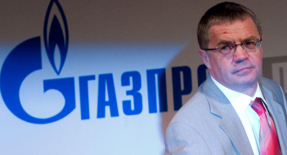 Dyrektor generalny Gazprom eksport Aleksander Miedwiediew