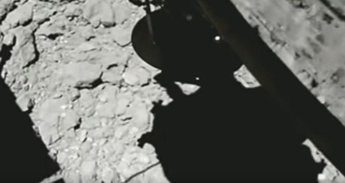 Lądowanie sondy Hayabusa-2 na asteroidzie Ryugu