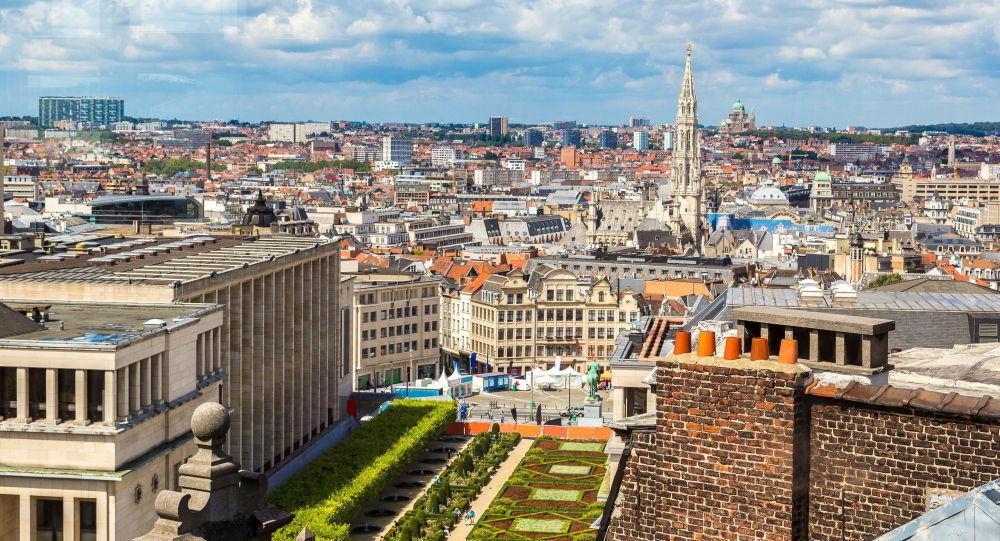 Widok na Brukselę, Belgia
