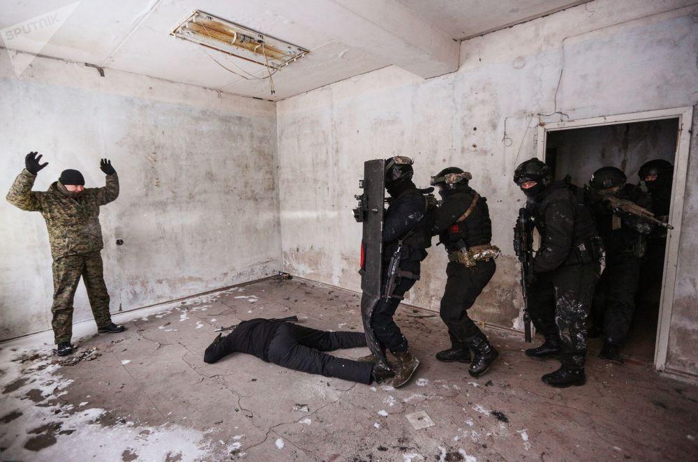 Rosgwardia zakończyła przygotowywanie personelu przed ćwiczeniami w Arktyce