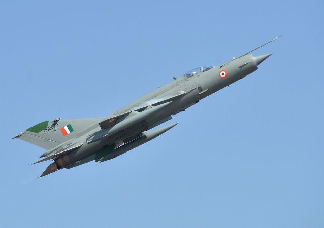 Indyjski myśliwiec produkcji radzieckiej MiG-21