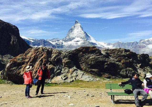 Matterhorn – szczyt w Alpach Pennińskich