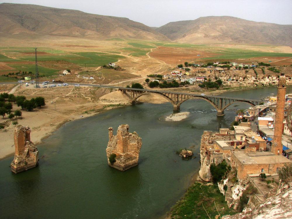 Rzeka Tygrys,  jedna z dwóch największych rzek Mezopotamii
