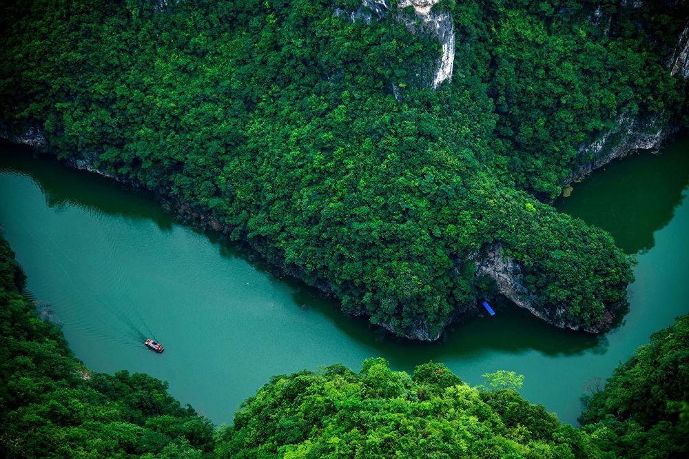 Rzeka w Chinach