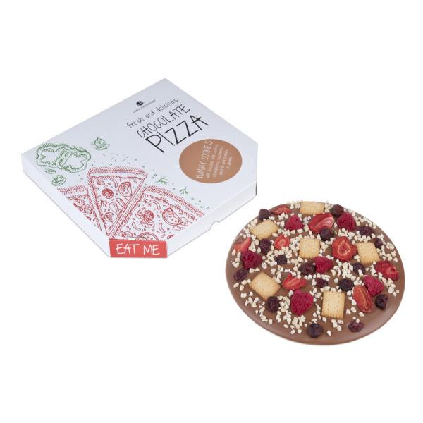 Czekoladowa pizza Yummy Cookies polskiej marki Chocolissimo