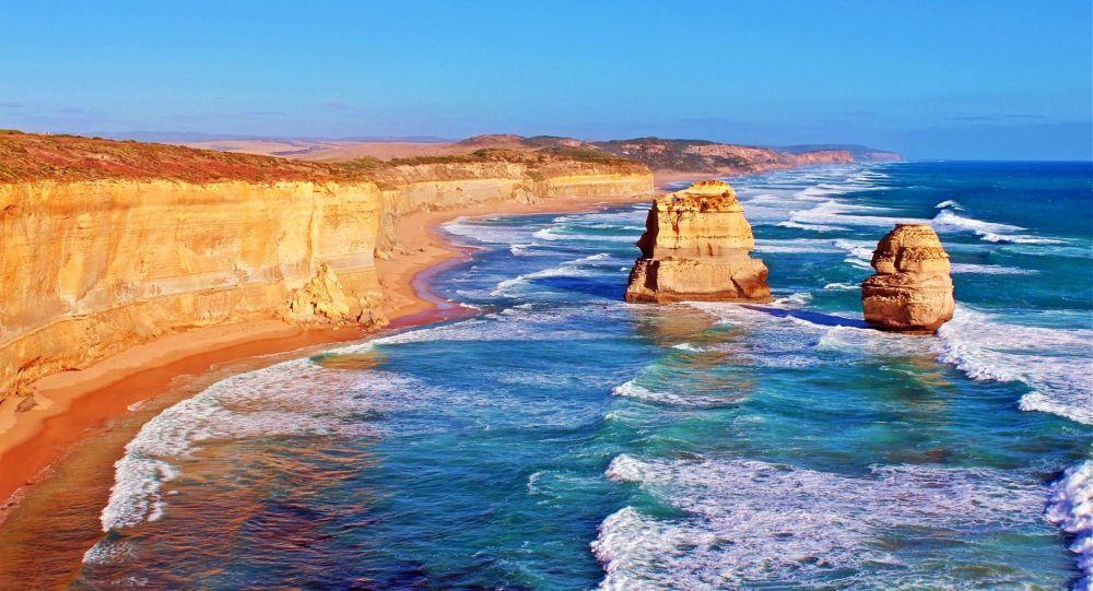 Brzeg Australi, pejzaż