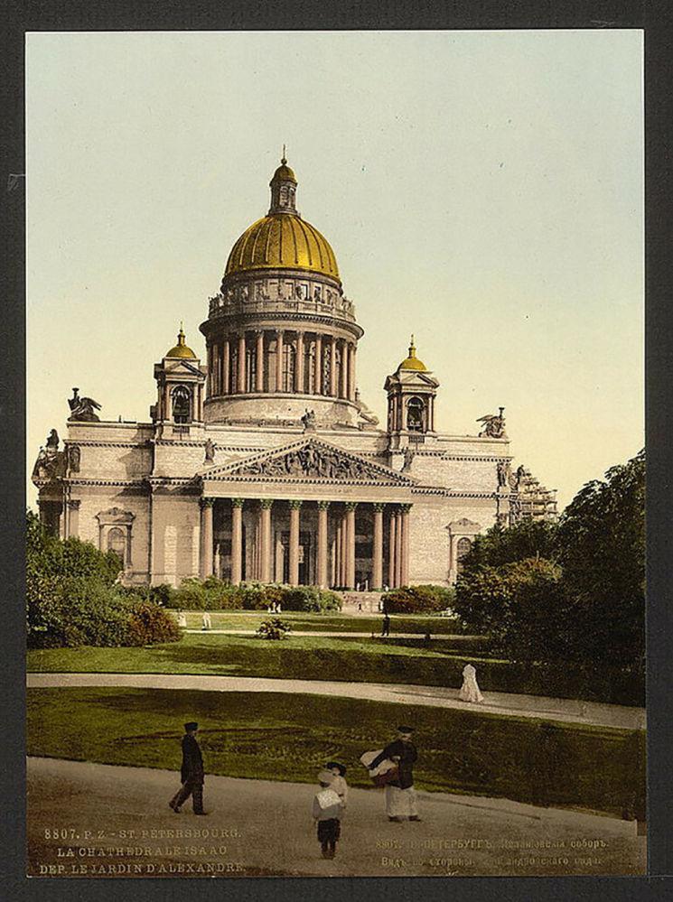 Sobór świętego Izaaka w Petersburgu