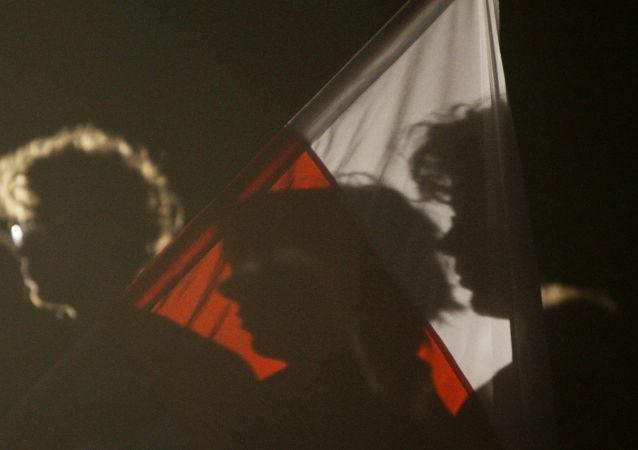 Uroczystość upamiętniająca rocznicę wybuchu II wojny światowej w Gdańsku. Zdjęcie archiwalne