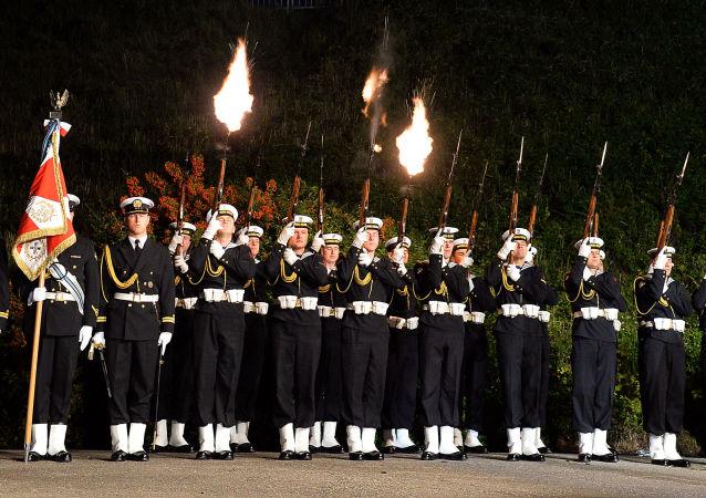 Uroczystości na Westerplatte  z okazji 75 rocznicy wybuchu II wojny światowej