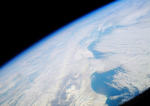 Widok na Kamczatkę z Międzynarodowej Stacji Kosmicznej