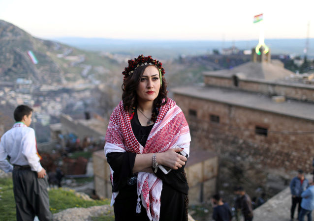 Kurdowie świętują Nouruz