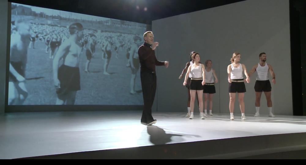 """""""Mein Kampf"""" na deskach warszawskiego teatru"""