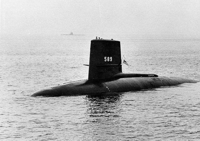 "Okręt podwodny ""Scorpion"", 1960."