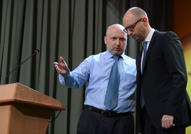 Aleksander Turczynow i Arsenij Jaceniuk