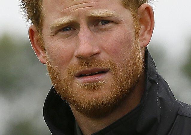 Książę brytyjski Harry
