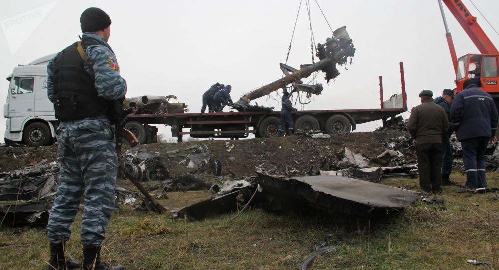 Katastrofa malezyjskiego Boeinga nad Ukrainą, 2014 rok