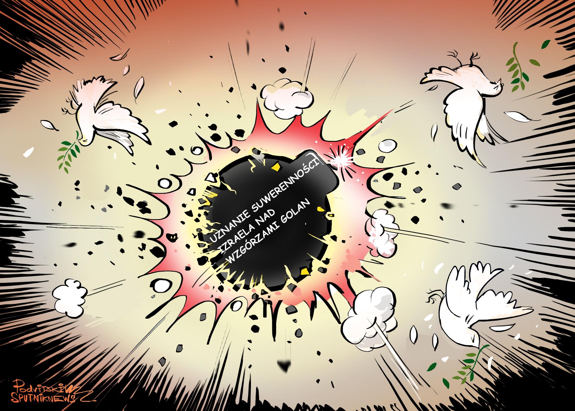 """""""Wojna o pokój"""" na Bliskim Wschodzie"""