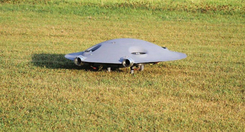 """Prototypowy naddźwiękowego """"latającego spodka"""" rumuńskiej firmy ADIFO Aircraft"""