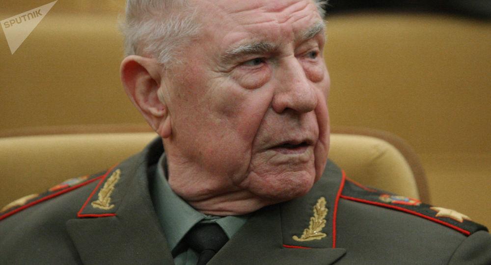 Były minister obrony ZSRR Dmitrij Jazow