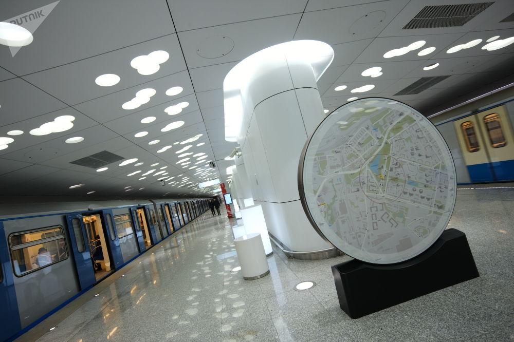 Stacja Sołncewo moskiewskiego metra