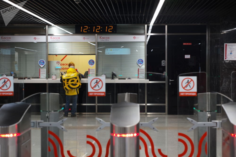 Kasa biletowa na stacji Choroszewskaja