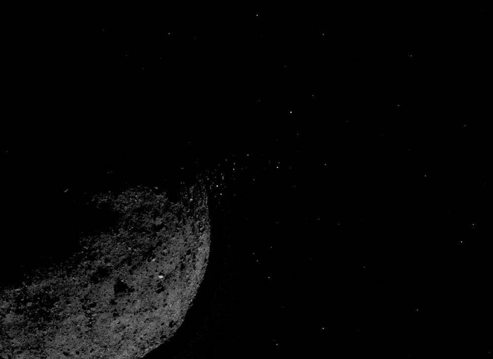 Asteroid Bennu. Zdjęcie zrobione przez sondę kosmiczną OSIRIS-REx.
