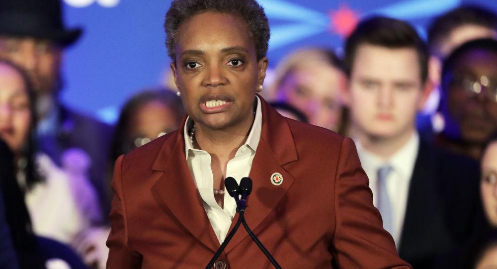 Burmistrz Chicago Lori Lightfoot
