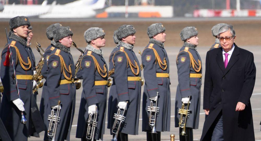 Kasym-Żomart Tokajew w Moskwie
