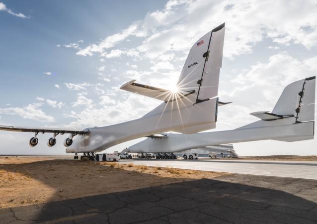 Największy samolot świata Stratolaunch
