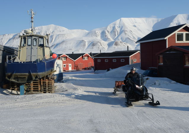 Centrum administracyjne archipelagu Spitsbergen miasto Longyearbyen
