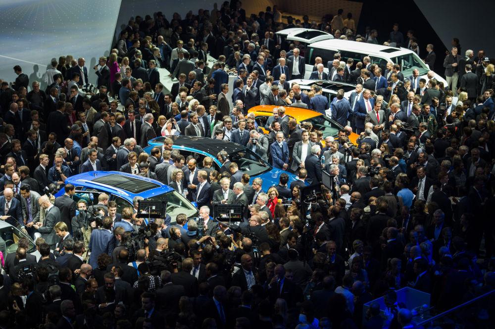 Volkswagen Group Night we Frankfurcie nad Menem