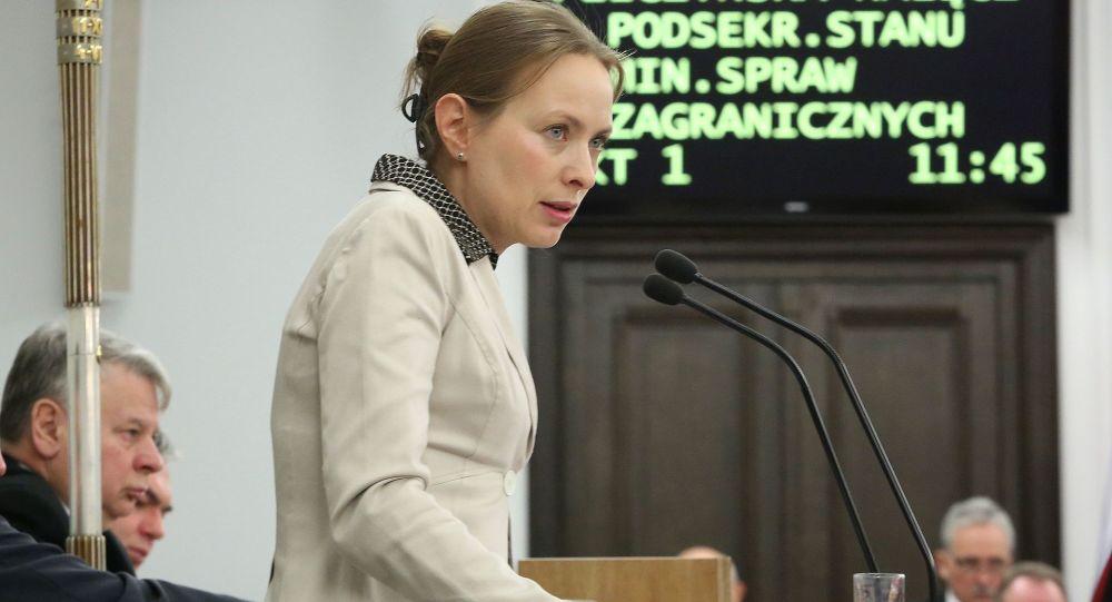 Ambasador Polski w Moskwie Katarzyna Pełczyńska-Nałęcz