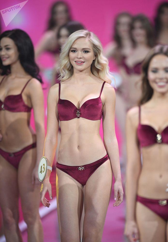 Uczestniczki finału konkursu Miss Rosji 2019 w Barvikha Luxury Village.