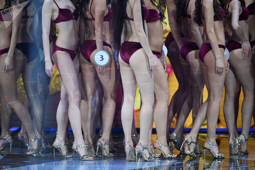 Uczestniczki finału Miss Rosji 2019 w Barvikha Luxury Village.