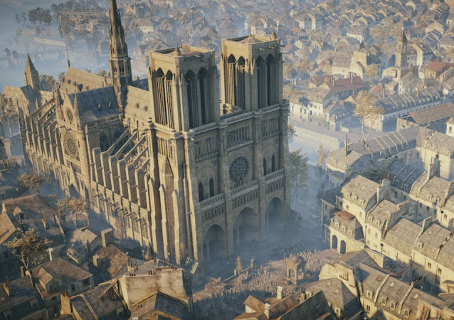 Katedra Notre Dame w grze Assassin's Creed Unity