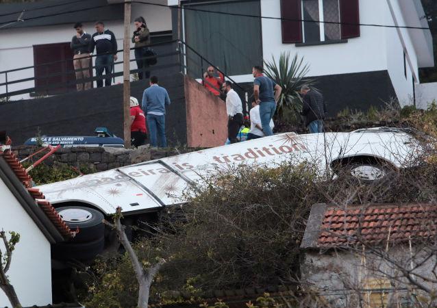 28 ofiar śmiertelnych. Wypadek samochodowy na Maderze