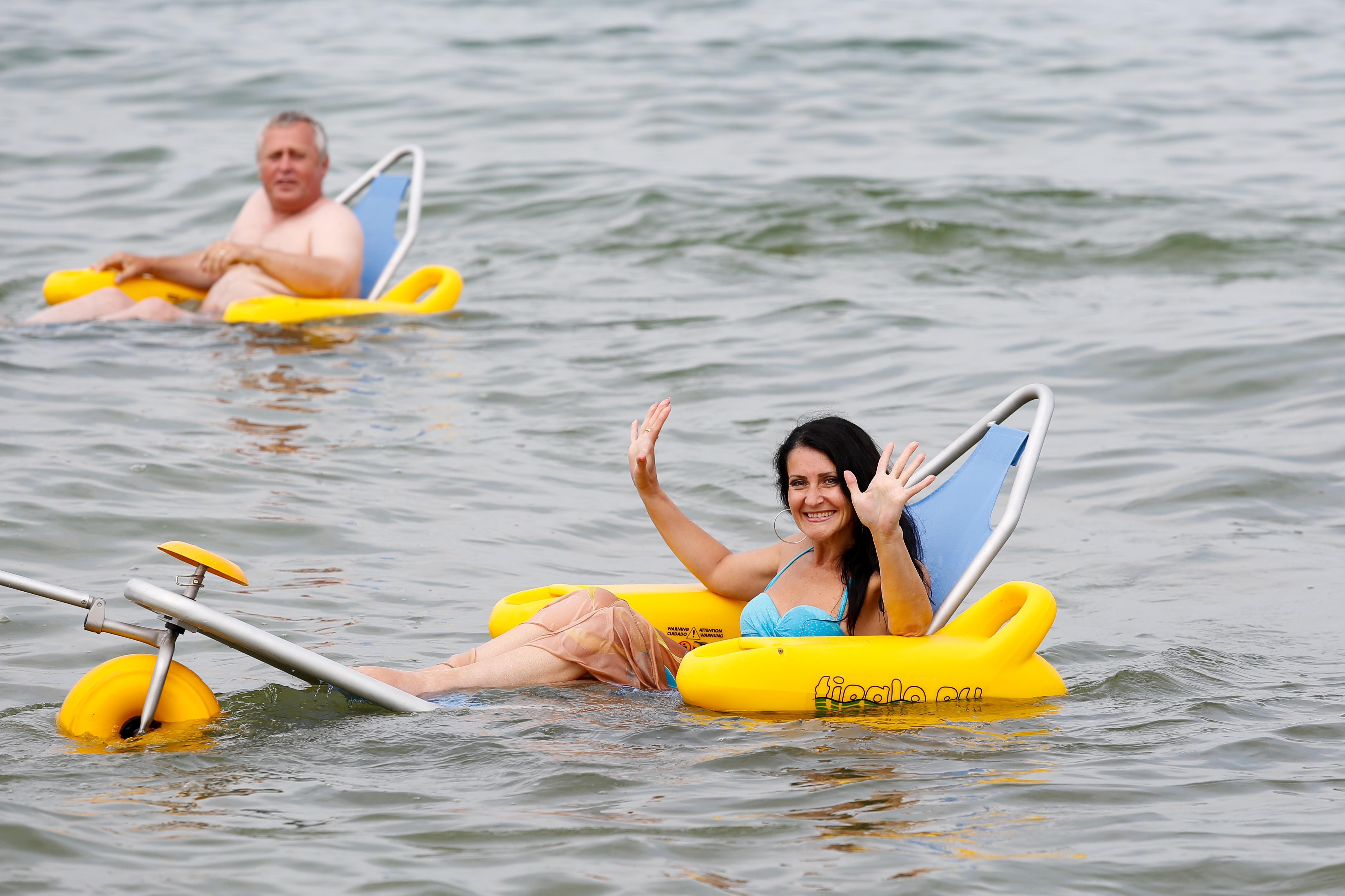 Plaże dla osób niepełnosprawnych w obwodzie kaliningradzkim