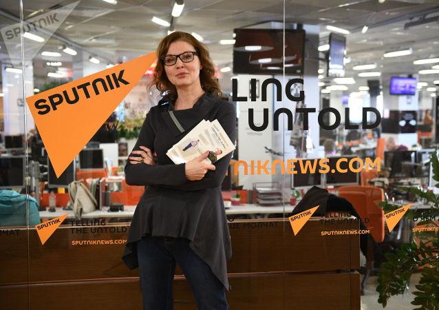 Koordynator stowarzyszenia KURSK w Rosji Anna Zacharian