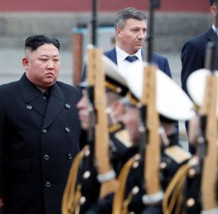 Przywódca Korei Północnej Kim Dzong Un, Władywostok
