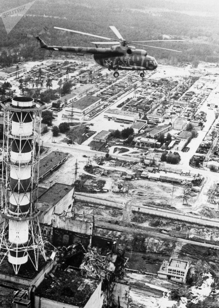 Odkażanie Czarnobylskiej Elektrowni Jądrowej