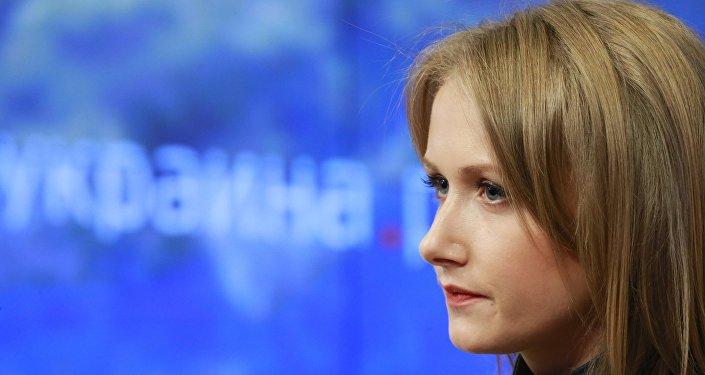 Szefowa portalu internetowego ukraina.ru Alona Bieriezowska