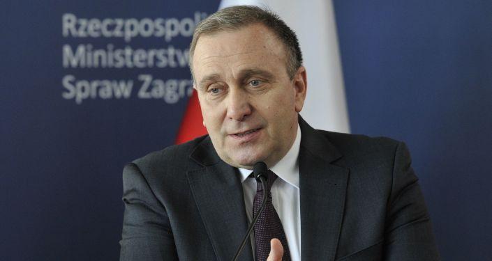 Minister spraw zagranicznych Polski Grzegorz Schetyna