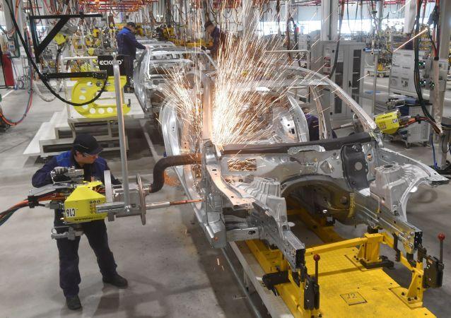 Fabryka spółki Mercedes-Benz w Moskwie
