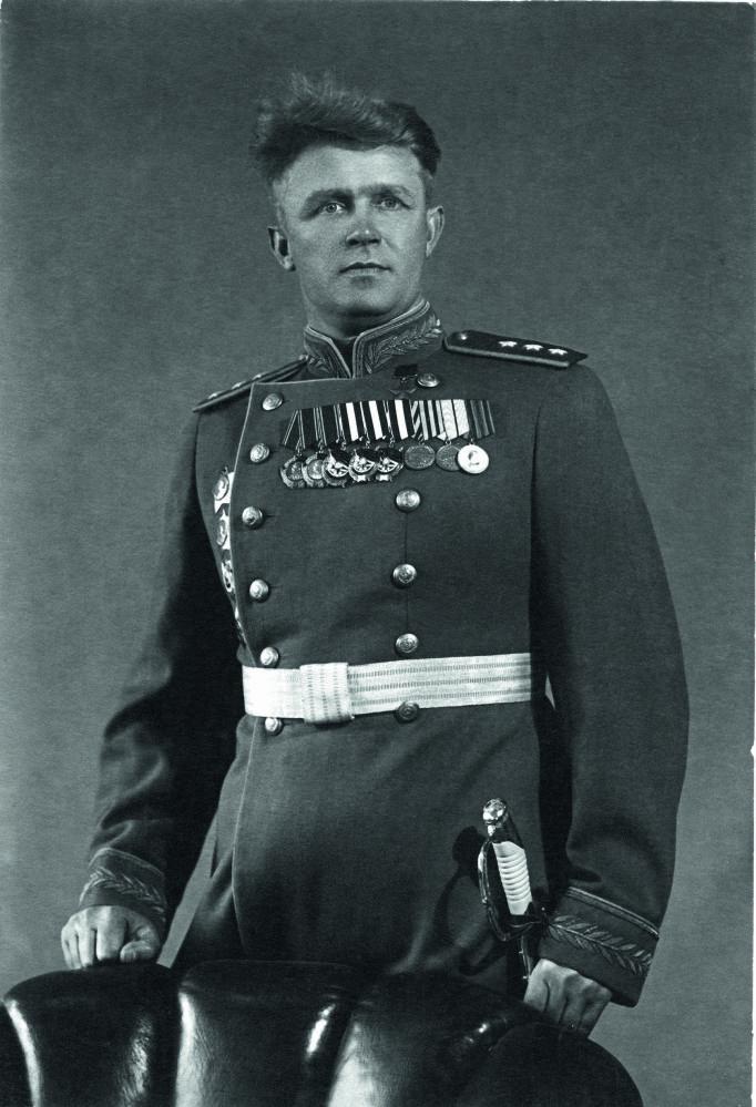 Siergiej Rudenko, radziecki dowódca wojskowy, marszałek lotnictwa ZSRR i Bohater Związku Radzieckiego