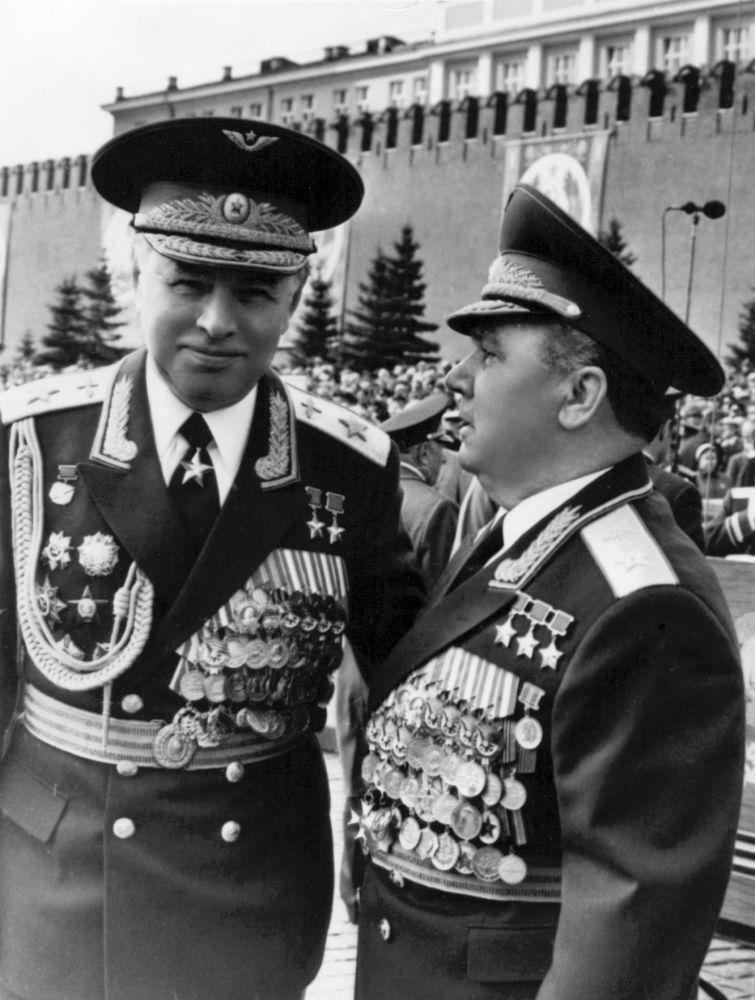 Nikołaj Skomorochow,  radziecki lotnik, dwukrotny Bohater Związku Radzieckiego