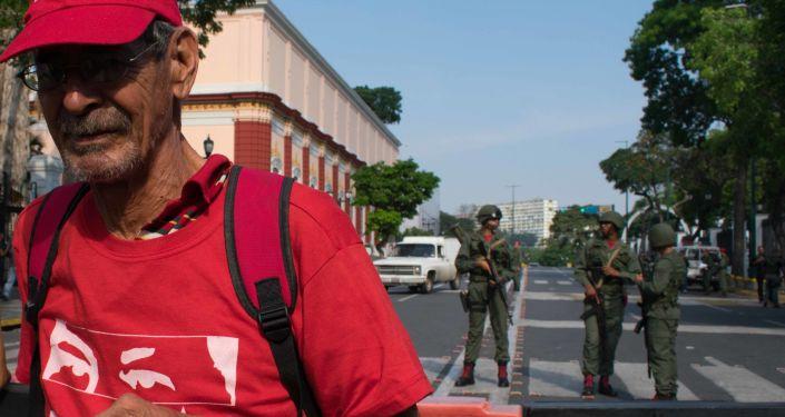 Zwolennicy Maduro wyszli na ulice Caracas